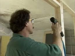 install doorstop around door area