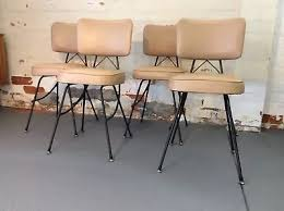 rot iron furniture. Vintage Retro Wrought Iron And Vinyl Dining Chairs Rot Furniture