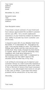 sample complaint letter custom college papers complaint letter sample formal letter samples