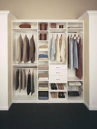 white melamine closet organizers
