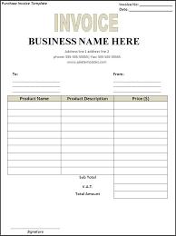 Create Free Invoice Template