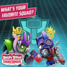Angry Birds Transformers - What's your favorite squad? Let us know down  below!
