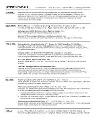 Resume Objective Examples For Internships Intern Resume Objective