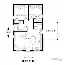 Plan Maison 2 Chambres 1 Sbain 1910 Bh1 Dessins Drummond