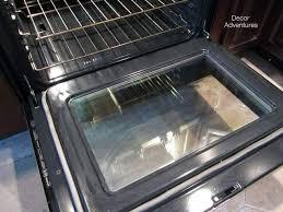 clean inside glass oven door joyfullmom com