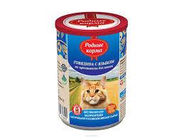 Корм для кошек <b>Родные корма</b> купить в ОБИ