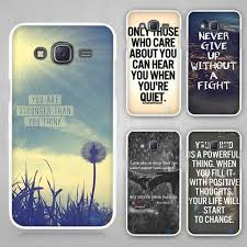 Samsung Quote Stunning Quote Design Inspirational Phrase Hard White Plastic Case Cover For