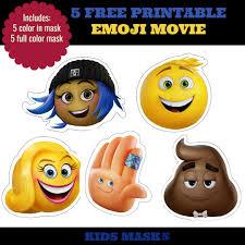 How to make a unicorn mask. 5 Free Printable Emoji Movie Mask For Kids