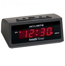 5 inch intelli time alarm clock