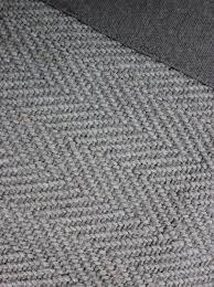 natural fibre herringbone rug in grey flatweave jute rugs