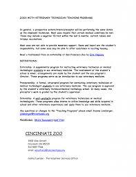 Veterinary Technician Resume Samples. resume for vet assistant ...