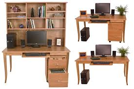 Create Your Own Desk by choosing the leg style, width, and height you  prefer or opt to add a desk hutch top and file cabinet to suit your ...