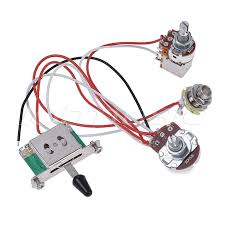 electric guitar wiring harness prewired kit 3 way toggle switch 1v1t Guitar Wiring Harness eBay electric guitar wiring harness prewired kit 3 way toggle switch 1v1t 500k pots 1 of 5only 4 available