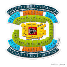 Gillette Seating Chart Taylor Swift Gillette Stadium Tickets Boston Aug 1