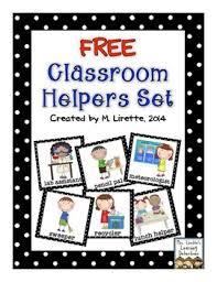 Classroom Helpers Set Free