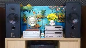 Dàn âm thanh phối ghép hay ~ Loa Harman Kardon ( CANADA ) + Yamaha AX-10 (  JAPAN ) . LH 0915.934.119 - YouTube