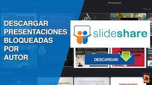 Descarga Presentaciones Bloqueadas En Slideshare 2017