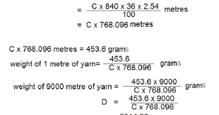 Textile Adviser Yarn Count Conversion From One To Another