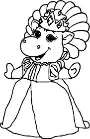 Small Picture Baby Bop Coloring Pages Coloring Pages