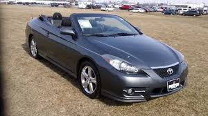 2008 Toyota Solara Convertible Used cars for sale Maryland ...