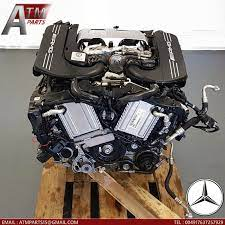 Codenamed m178, the new amg v8 engine has two turbochargers that are not mounted on the outside of the cylinder banks but rather inside the v. Mercedes Benz C63 S W205 Amg Engine Engine Moteur 4 0 V8 Twin Turbo 2015 177980 Mercedes Benz C63 Mercedes Benz Amg Engine