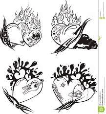 Disegno Cuore Stilizzato Disegni Da Colorare