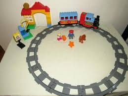 duplo my first train set dels about track system my first train set motorized engine electric