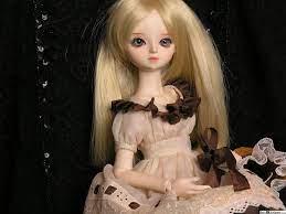 Blonde hair doll HD wallpaper download