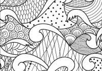 Waves Coloring Sheet Printable Coloring Page For Kids