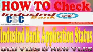 how to check indusind bank application status you indusind bank chelsea fc credit card indian