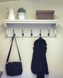 Coloured Ball Coat Rack Extraordinary Coat Rack With Shelf And 32 Cast Iron Hooks Choice Of Farrow And