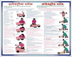 Electric Shock Treatment Chart In Hindi Pdf Treatment In Case Of Electrical Shock Laminated With Foam