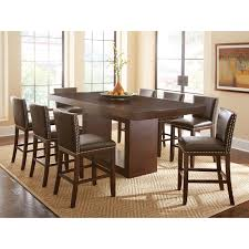 Steve Silver 9-Piece Antonio Counter-Height Dining Table Set with Tiffany  Chairs | Hayneedle