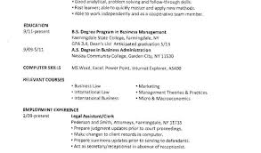 Student Resume For Summer Job Resume Awesome Sample Resume For College Student 100 Summer Job 49