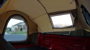 Kodiak Tent 7218 Canvas Truck Tent for 8-Foot Long Bed | camping ...
