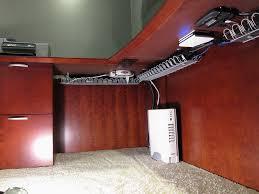 Home office cable management Work Desk Img0232 By Jclishe Via Flickr Desk Setup Gaming Setup Furniture Nyc Office Pinterest Lets Be Candid Organization Cable Management Desk Diy