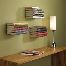 Bookshelves with minimalist design and expressive Conceal book shelf -  www.homeworlddesign. com (