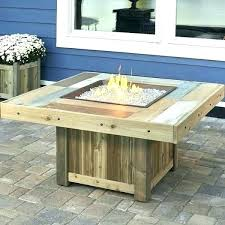 outdoor coffee table fire pit diy