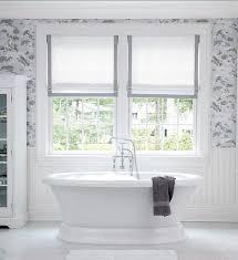 classic white bathroom ideas. Bathroom Ideas Classic White With Roman Shades I