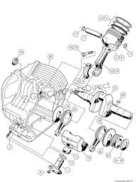 engine as11 fe350 engine crankcase and crankshaft club car engine as11 fe350 engine crankcase and crankshaft