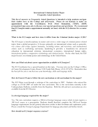 Cover Letter Template For Criminal Justice Resume Samples Ideas