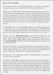A Genomic Perspective On Hla Evolution Springerlink