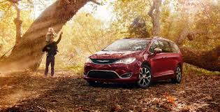 2018 chrysler pacifica sport. brilliant sport 2018 chrysler pacifica parked in forest by a tree intended chrysler pacifica sport