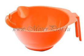 <b>Миска для окрашивания</b> harizma <b>310</b> мл., оранж, арт. h10816 ...