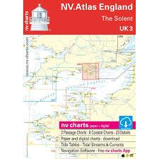 Nv Charts App Nv Charts Uk 3 Nv Atlas England The Solent 9953