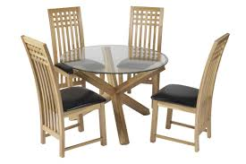 Crate And Barrel Glass Dining Table White Wood And Glass Dining Table White Dining Chairs And Dark