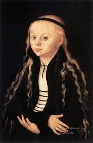 4 portrait of a young girl renaissance lucas cranach the elder