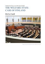 an essay the welfare state case of finnish political culture and system the welfare state case of michal saidl image has