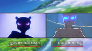Here's A Comparison Of Mewtwo Strikes Back Evolution (2019) Versus Pokemon  The First Movie (1999)