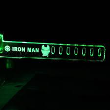 Green For IRON MAN HIS LED Luminous Computer Office Main Box